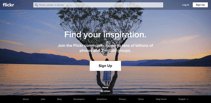 Ücretsiz Stok Siteleri Flickr