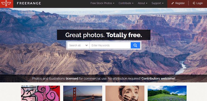 Ücretsiz Stok Siteleri Freerange