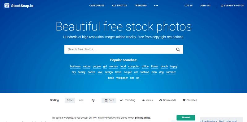 Ücretsiz Stok Siteleri Stocksnap